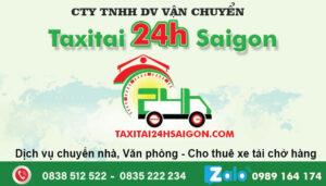 Taxi Tải 24H Sài Gòn - Vận Chuyển